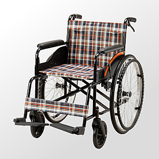 輪椅 均佳JW-001 鐵製經濟型輪椅