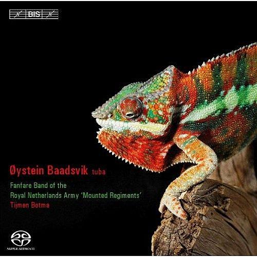【停看聽音響唱片】【SACD】變色龍~給低音號與銅管樂團的作品