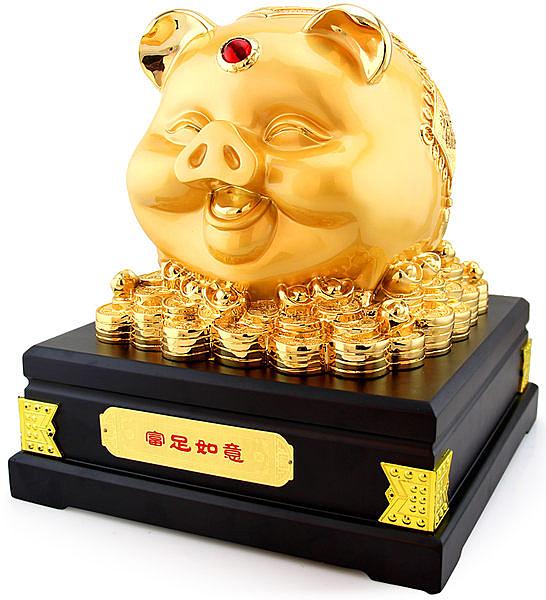 金豬工藝品擺設