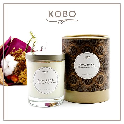 【KOBO】美國大豆精油蠟燭 - 紫羅勒 (330g/可燃燒80hr)