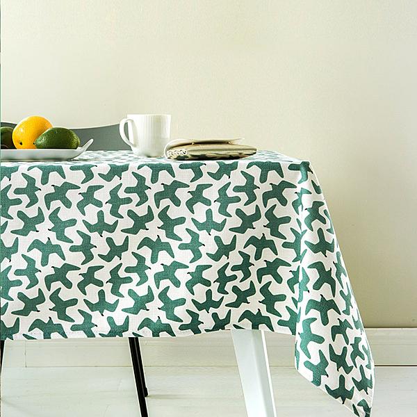時尚可愛空間餐桌布 茶几布 隔熱墊 鍋墊 杯墊 餐桌巾826 (140*140cm)