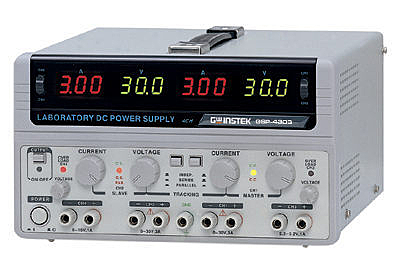 泰菱電子◆固緯直流電源供應器GPS-4303 TECPEL