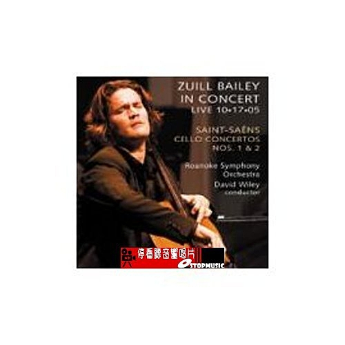 【停看聽音響唱片】【DELOS】祖爾.拜里10.17.05現場演奏實況—聖桑大提琴協奏曲第一、二號