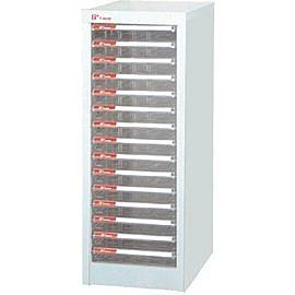 樹德  A4-115P 單排74cm高 落地型資料櫃(透明抽)