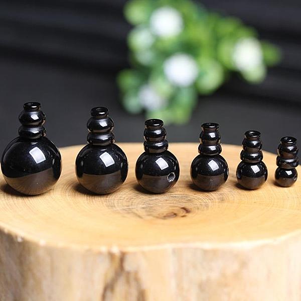 [超豐國際]diy黑瑪瑙三通佛頭水晶飾品配件手鏈半成品圓珠串1入
