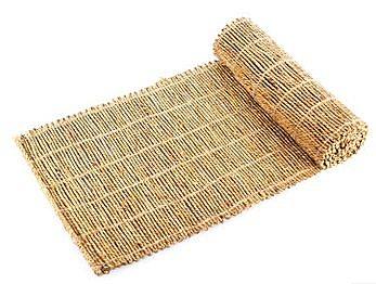 【小】手工編織草簾茶席