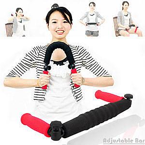 握力棒│台灣精品調整型臂力器.健美夾臂力棒健臂器手腕力訓練器擴胸器.健身器材推薦
