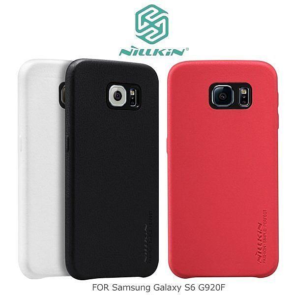 ☆愛思摩比☆ NILLKIN Samsung Galaxy S6 G920F 維多利亞系列全覆式背蓋 保護殼 皮背蓋