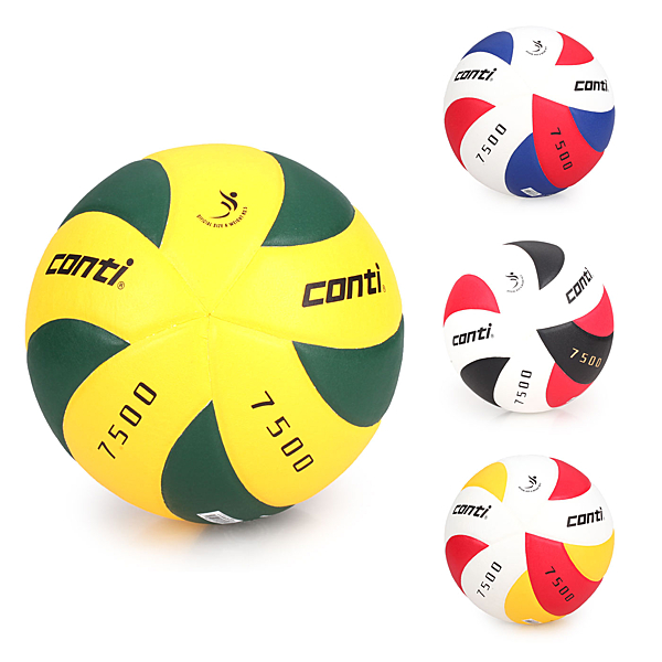 CONTI 5號日本頂級超級細纖纖維貼布排球(免運≡體院≡ V7500-5