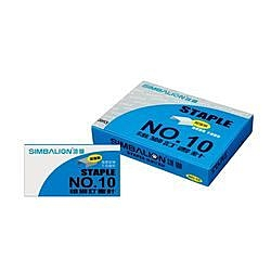 《享亮商城》NO.10 訂書針(加強版藍盒)  雄獅