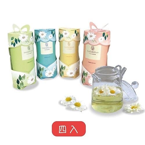【鮮食優多】大埔有機農場•有機乾燥杭菊(4罐)