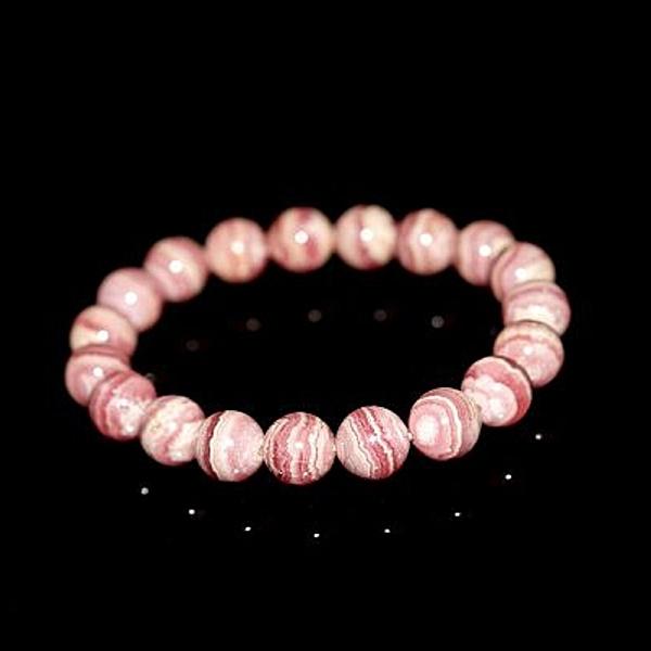 【喨喨飾品】紅紋石手鍊 代表愛情運的晶石 N370