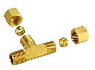 銅接頭 銅管接頭 1/4 PT*10m/m銅管