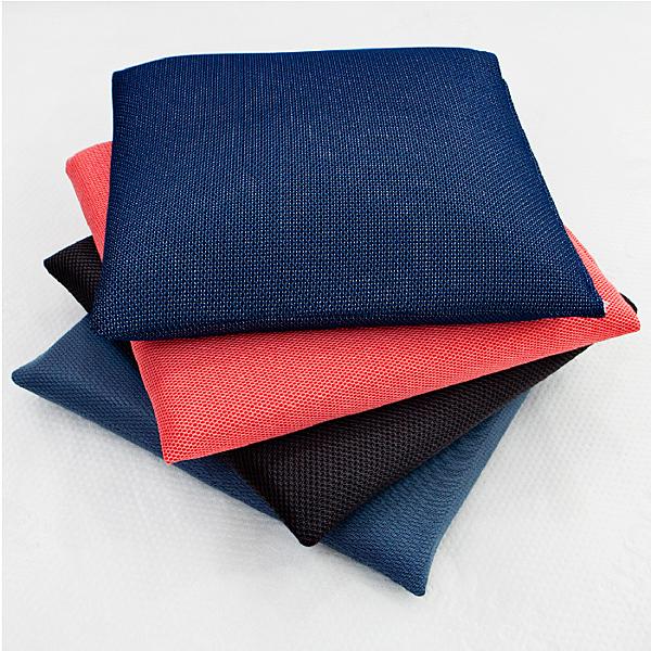 【名流寢飾家居館】單人坐墊布套.45x45cm.3D透氣網布.隨機不挑色