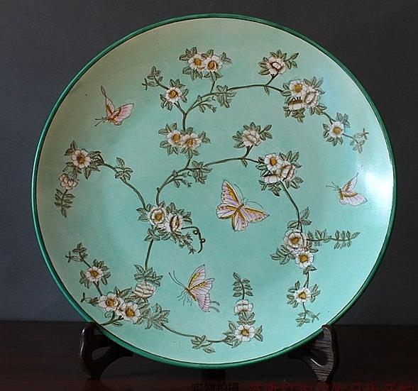 【協貿國際】外貿現代中式家居裝飾盤