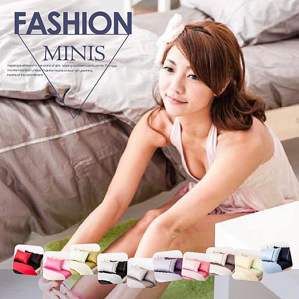 MiNiS 素色雙色系 雙人床包枕套三件組 100%精梳棉 台灣製 TWB02