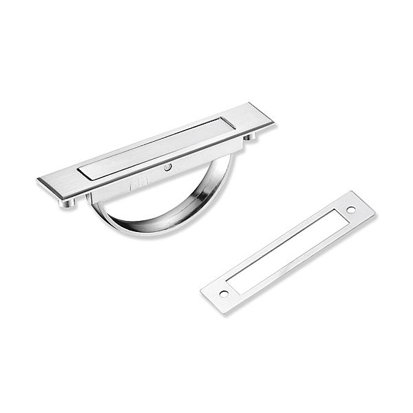 櫥櫃把手 Z860 鋅合金把手 崁入式 孔距85mm 現代風 抽屜把手 木地板把手 櫃子 取手 手把 握把