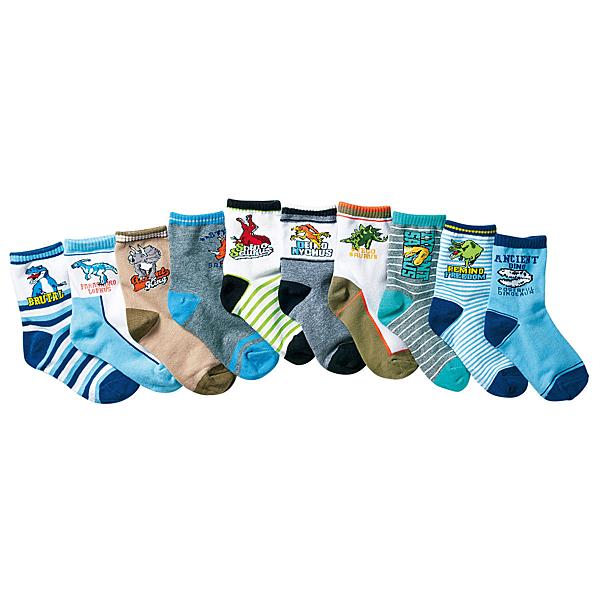[韓風童品](3雙/組)棉質男童襪  中童棉質襪子 兒童薄棉短筒襪子 恐龍圖案棉襪 兒童百搭休閑襪