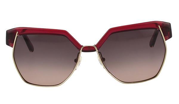 CHLOE太陽眼鏡  廣告款 紅色 CE665SA-603