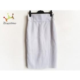 ベイジ BEIGE 巻きスカート サイズ4 XL レディース 美品 ライトブルー 新着 20191109