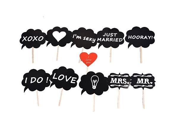 11款 結婚用品新年新春派對 創意搞怪拍照 婚慶迎賓區道具─預購CH278