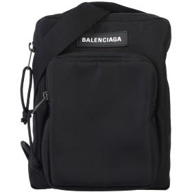 《セール開催中》BALENCIAGA メンズ メッセンジャーバッグ ブラック 紡績繊維