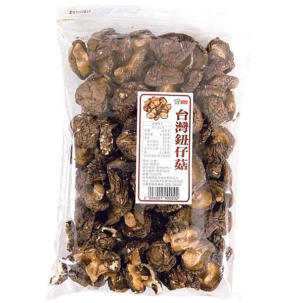台灣乾鈕仔菇(袋)