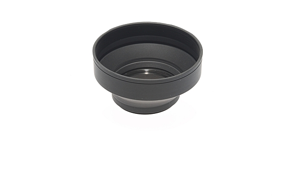 ◎相機專家◎ 現貨 Photixx 72mm 3節可折疊式橡膠鏡頭遮光罩 可伸縮 方便攜帶