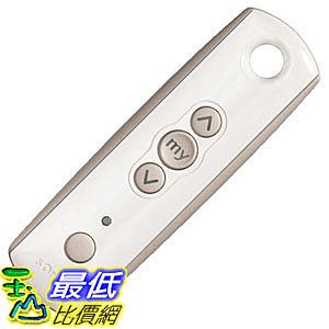 [7美國直購] 遙控器 Somfy Telis 1 RTS Pure Remote, 1 Channel (1810632)