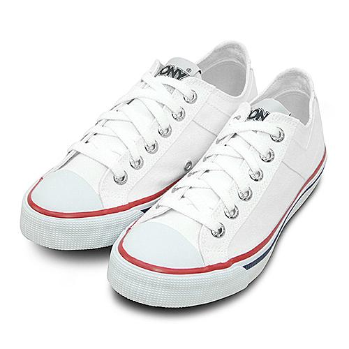 LIKA夢 PONY 經典帆布鞋--Shooter--白--73U1SH61RW--女