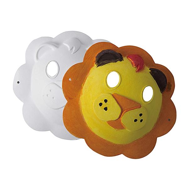 【華森葳兒童教玩具】美術教具系列-紙漿面具-獅子CB5-3MG5123