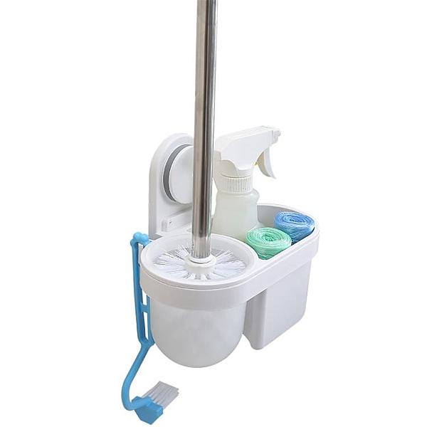 馬桶刷套裝免打孔創意刷子無死角潔廁廁所刷架壁掛 露露日記
