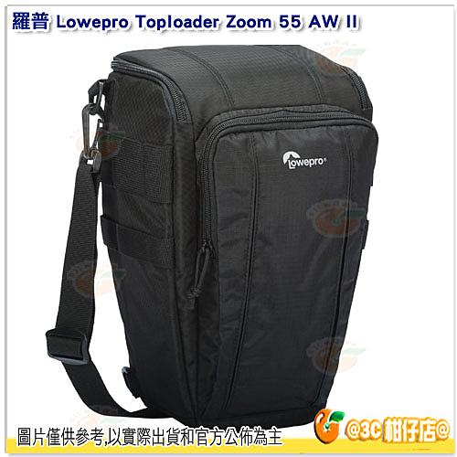 羅普 L56 Lowepro Toploader Zoom 55 AW II 長鏡頭專業相機三角包 可腰掛 放1機1鏡 公司貨