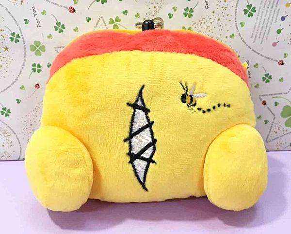 【震撼精品百貨】Winnie the Pooh 小熊維尼~票夾零錢包~造型尾巴#04309