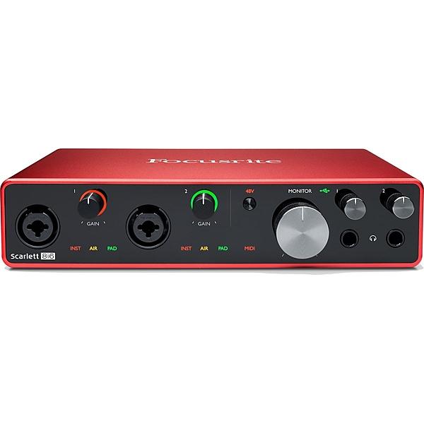 凱傑樂器  Focusrite Scarlet  8i6 3rd Gen 第三代 錄音介面 Type C 接口 公司貨