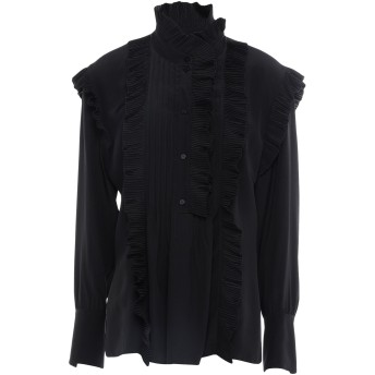 《セール開催中》CHLO レディース シャツ ブラック 36 シルク 100%