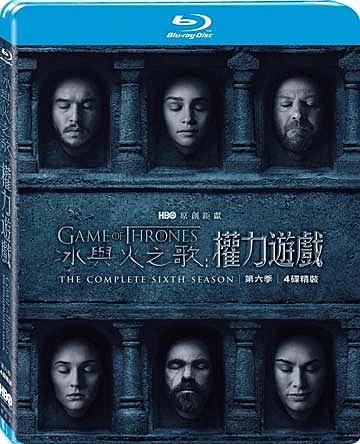 【停看聽音響唱片】【BD】冰與火之歌:權力遊戲第六季
