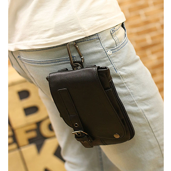 Mao【5折超值價】  最新款潮流時尚腰包手機小背包單肩斜背包