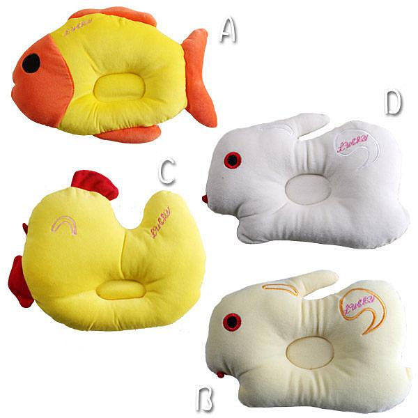 超可愛動物造型嬰幼兒凹枕 嬰幼兒用品 魔法Baby