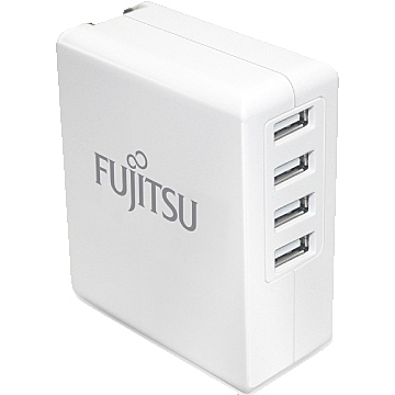 FUJITSU 富士通 US-08 6.8A USB充電器