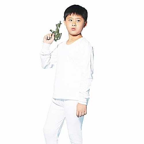 LOVIN BABY一王美台灣製純棉素面男童圓領衛生衣~4件