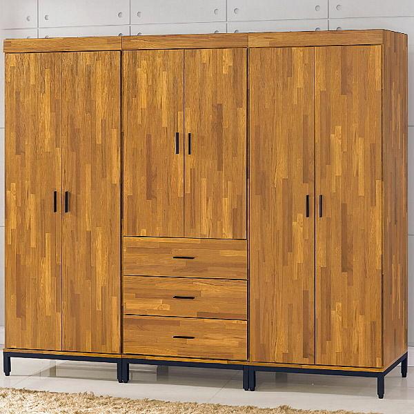 衣櫃 衣櫥 BT-8-121工業風7尺衣櫃【大眾家居舘】