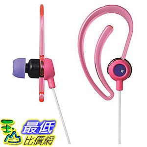 [7東京直購] ELECOM 運動耳掛式耳機 EHP-SPIN200 粉色