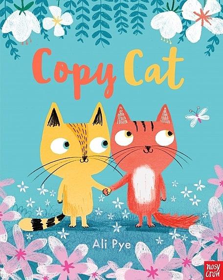 『線上聽.手上讀』COPY CAT /英文繪本《主題:自我認同.友誼.分享》內附QR code