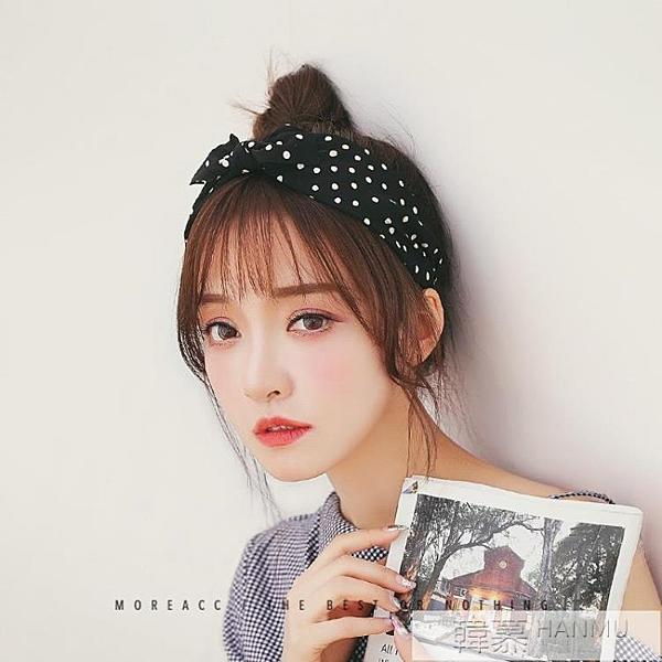網紅發箍成人韓國簡約寬邊壓發帶蝴蝶結可愛超萌頭飾發卡頭箍女  牛轉好運到