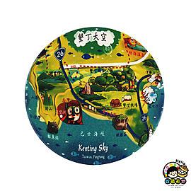 【收藏天地】台灣紀念品*神奇的陶瓷吸水杯墊-墾丁天空∕馬克杯 送禮 文創 風景 觀光  禮品