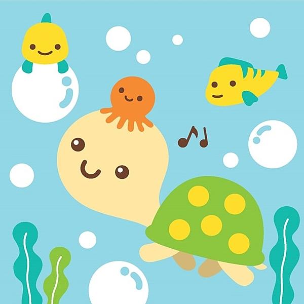 LOVIN 超萌韓版數字油畫 海洋系列可愛烏龜(8) 1幅