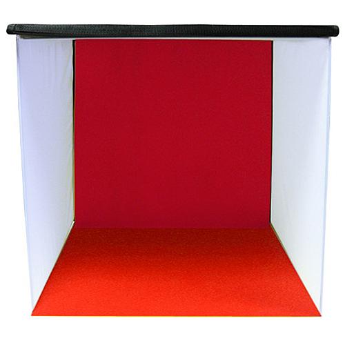 【聖影數位】WSB50 50CM方型攝影棚 4色絲絨背景布 長50x寬50x深50cm