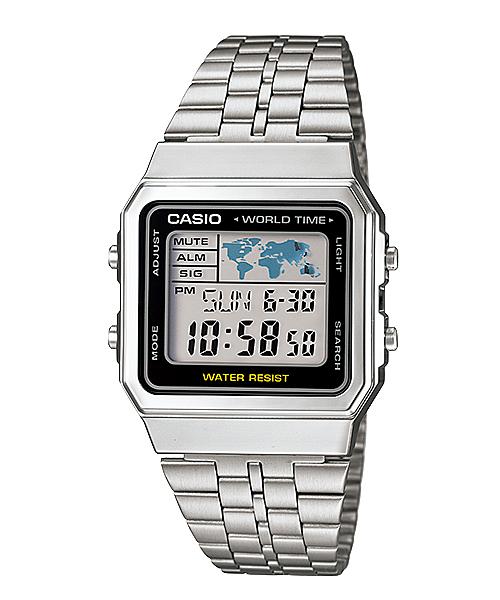 【CASIO宏崑時計】CASIO卡西歐復古運動電子錶 A500WA-1 50米防水 台灣卡西歐保固一年