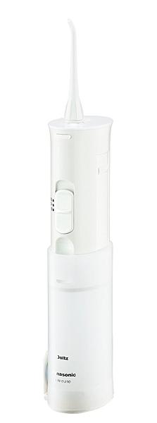Panasonic【日本代購】 松下口腔清潔器 電池式 牙縫清潔器EW-DJ10-W